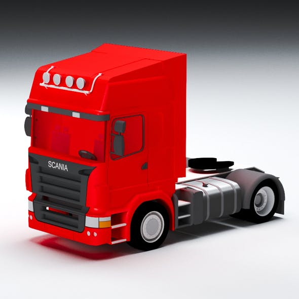 Scania - 3DOcean Item for Sale