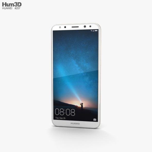Huawei Mate 10 Lite Prestige Gold - 3DOcean Item for Sale