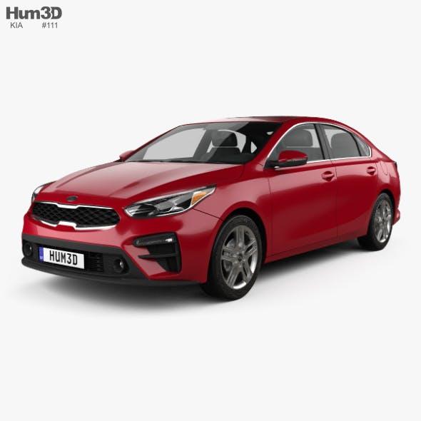 Kia Forte 2018 - 3DOcean Item for Sale
