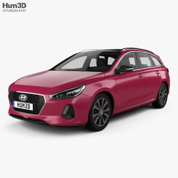 Hyundai i30 wagon 2017 - 3DOcean Item for Sale