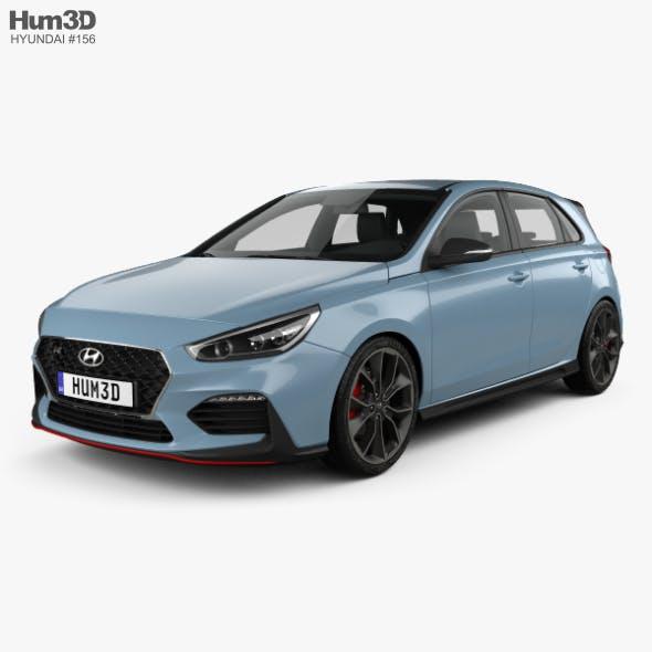 Hyundai i30 N hatchback 2017 - 3DOcean Item for Sale