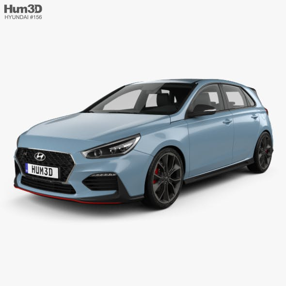 Hyundai i30 N hatchback 2017