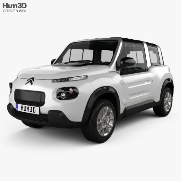 Citroen E-Mehari 2018 - 3DOcean Item for Sale