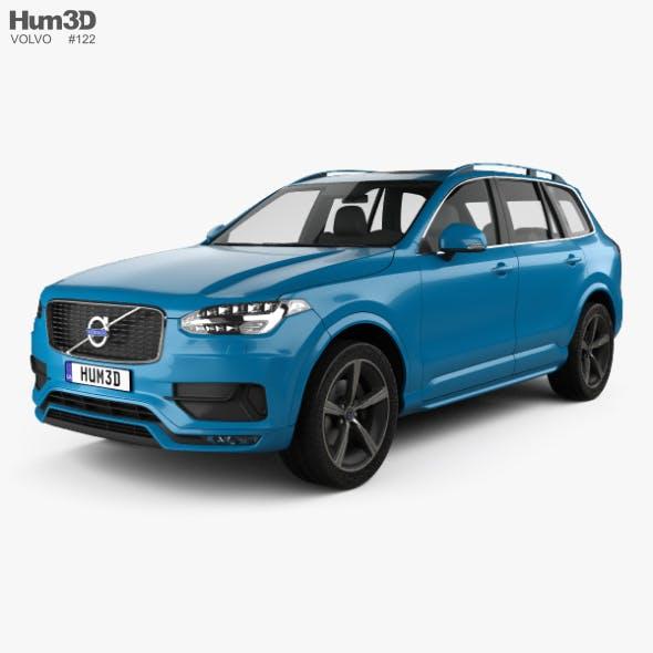 Volvo XC90 D5 R-Design 2016 - 3DOcean Item for Sale