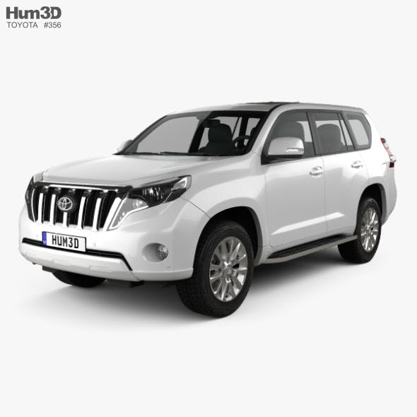 Toyota Land Cruiser Prado 5-door EU-spec 2013