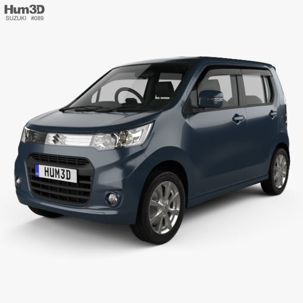 Suzuki Wagon R Stingray T 2012 - 3DOcean Item for Sale