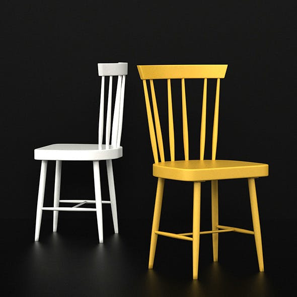 NARA CHAIR - DINING CHAIR - 3DOcean Item for Sale
