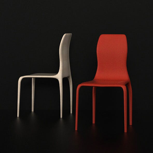 SHERLI CHAIR - DINING CHAIR - 3DOcean Item for Sale