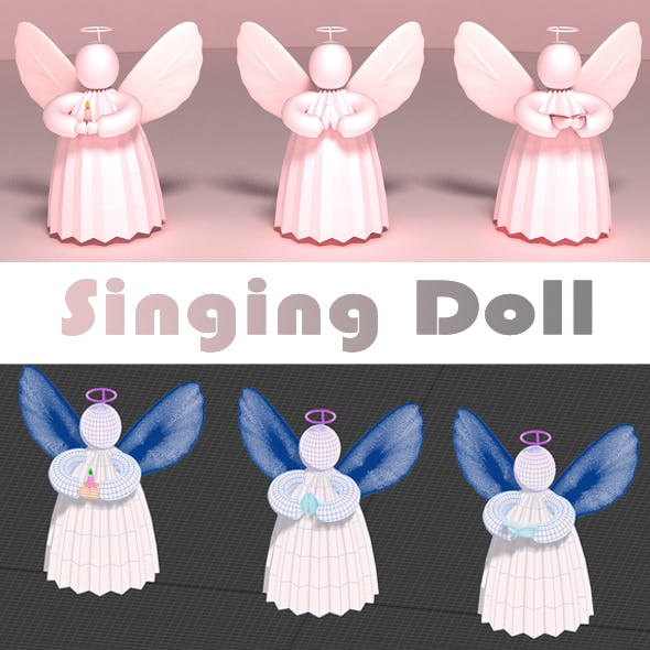Singing Doll - 3DOcean Item for Sale