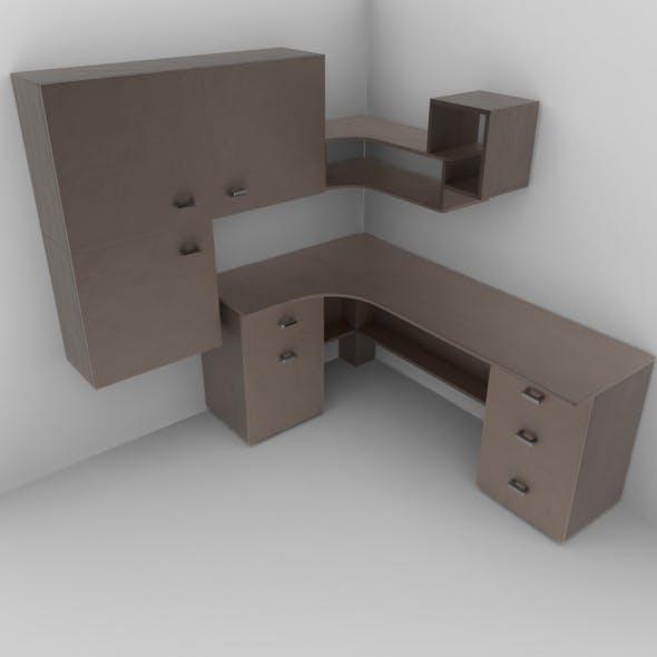 Working desk - 3DOcean Item for Sale