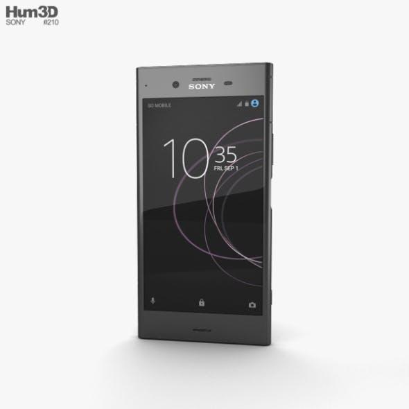 Sony Xperia XZ1 Black - 3DOcean Item for Sale