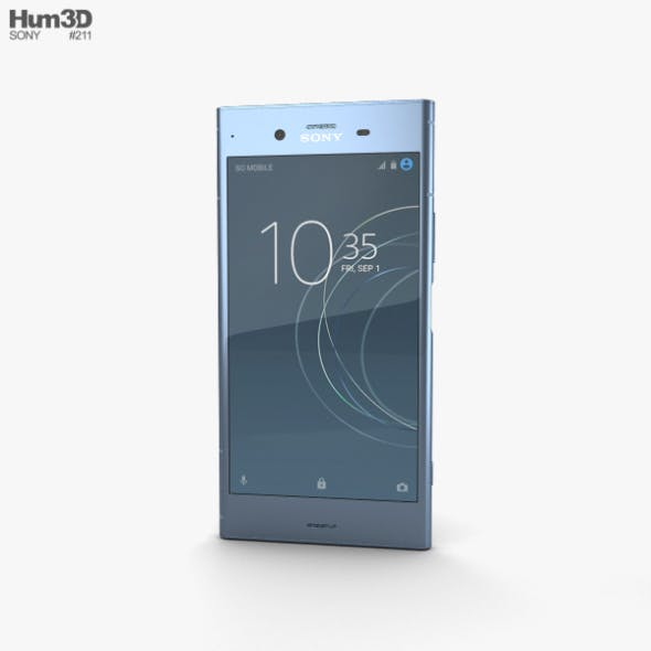 Sony Xperia XZ1 Moonlit Blue - 3DOcean Item for Sale
