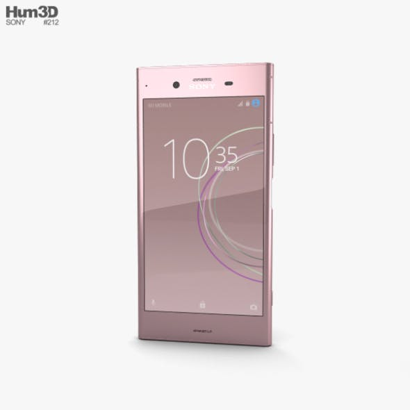 Sony Xperia XZ1 Venus Pink - 3DOcean Item for Sale