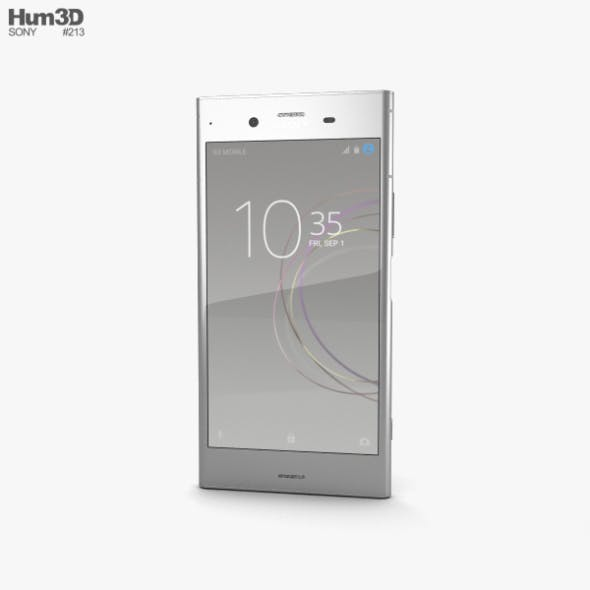 Sony Xperia XZ1 Warm Silver - 3DOcean Item for Sale