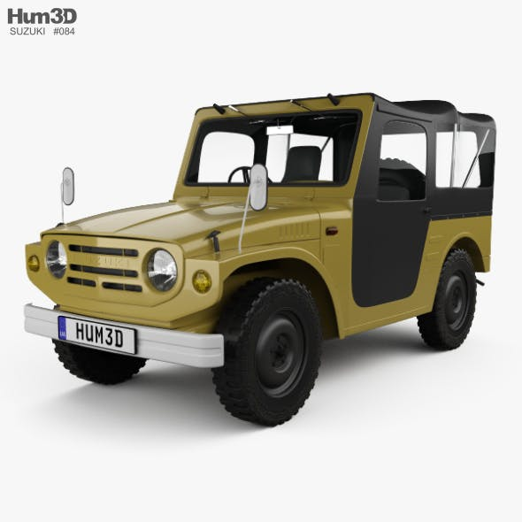 Suzuki Jimny 1970 - 3DOcean Item for Sale