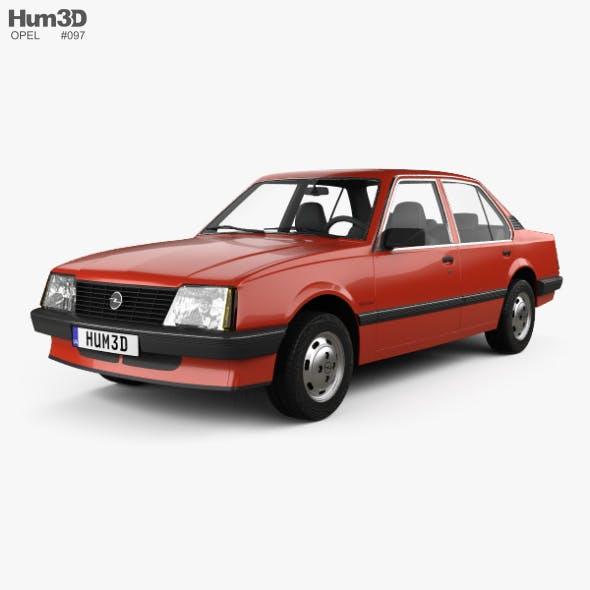 Opel Ascona sedan 1981 - 3DOcean Item for Sale