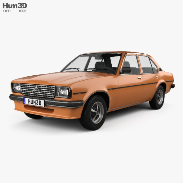 Opel Ascona berlina 1975 - 3DOcean Item for Sale