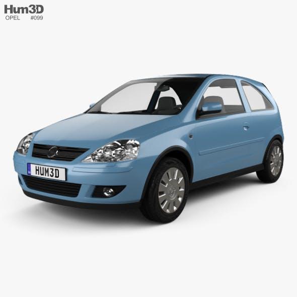 Opel Corsa 3-door 2003 - 3DOcean Item for Sale
