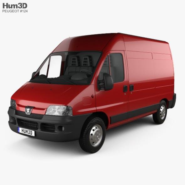 Peugeot Boxer Panel Van L2H2 2002 - 3DOcean Item for Sale