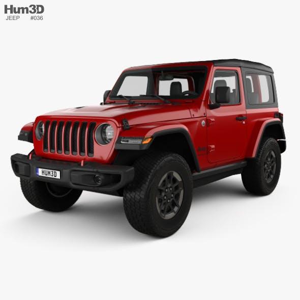 Jeep Wrangler Rubicon 2018 - 3DOcean Item for Sale