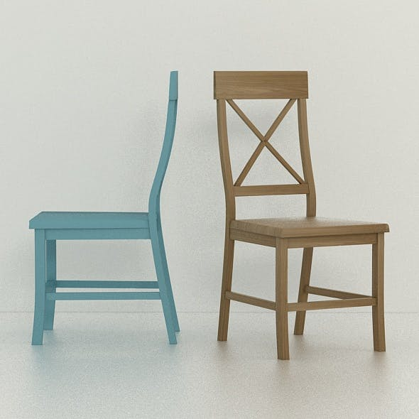RANMA CHAIR - DINING CHAIR - 3DOcean Item for Sale
