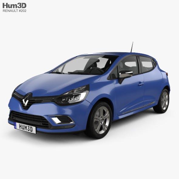 Renault Clio GT Line 5-door 2016 - 3DOcean Item for Sale