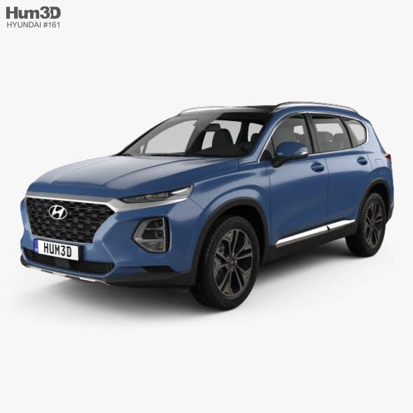 Hyundai Santa Fe (TM) 2019 - 3DOcean Item for Sale