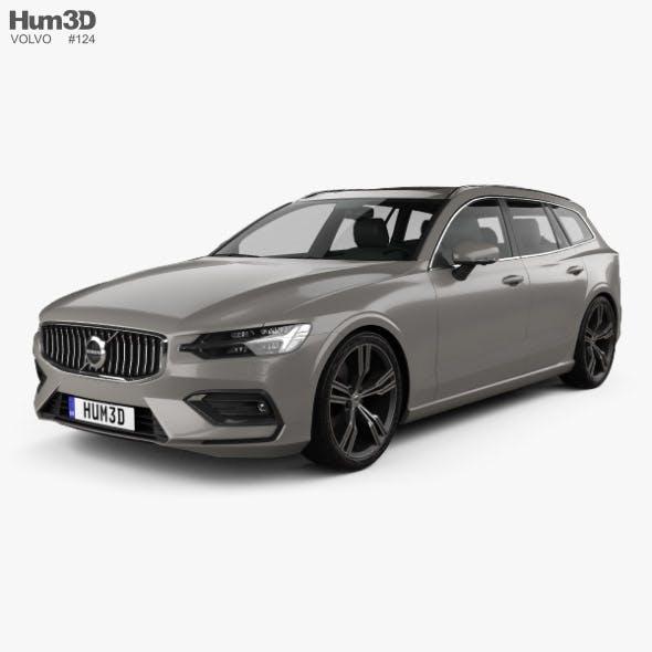 Volvo V60 T6 Inscription 2018 - 3DOcean Item for Sale