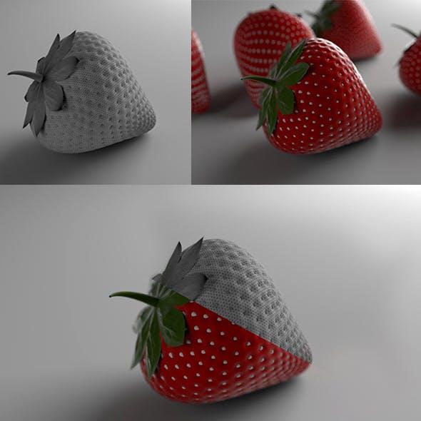 Strawburry - 3DOcean Item for Sale