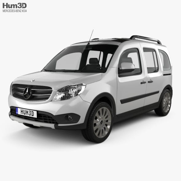 Mercedes-Benz Citan Tourer Off-Road 2016 - 3DOcean Item for Sale