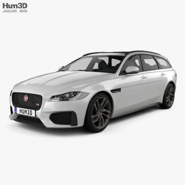 Jaguar XF sportbrake S 2016 - 3DOcean Item for Sale