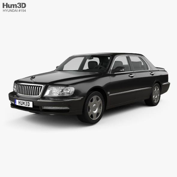 Hyundai Equus 1999 - 3DOcean Item for Sale