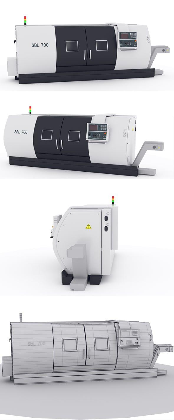 SBL 700 cnc lathe TOKARKI - 3DOcean Item for Sale