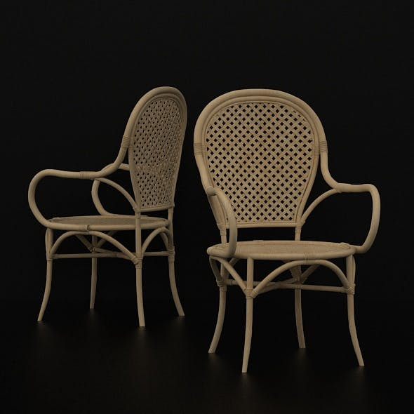 GROOT CHAIR - RATTAN CHAIR - 3DOcean Item for Sale