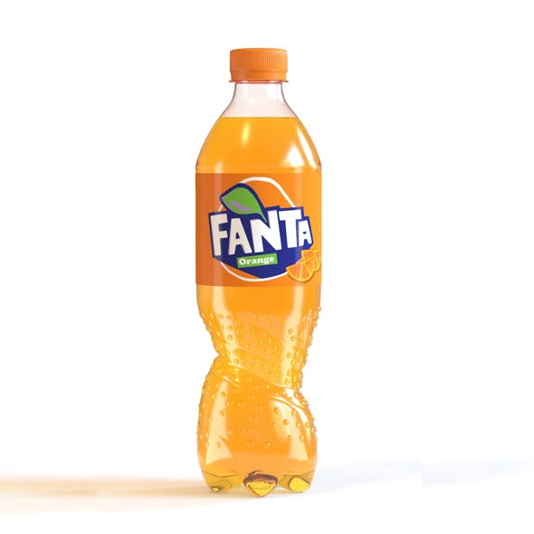 Fanta New Bottle - 3DOcean Item for Sale