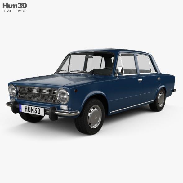 Fiat 124 1972 - 3DOcean Item for Sale