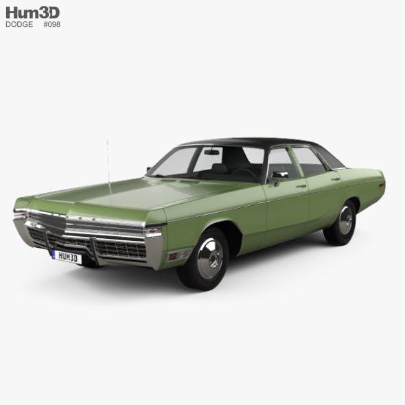 Dodge Monaco sedan 1972 - 3DOcean Item for Sale
