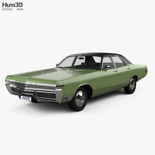 1969-1973 and Chrysler CG Textures & 3D Models from 3DOcean