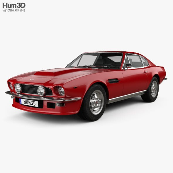Aston Martin V8 Vantage 1972 - 3DOcean Item for Sale