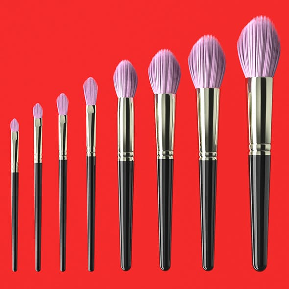 Brush Set 3 - 3DOcean Item for Sale