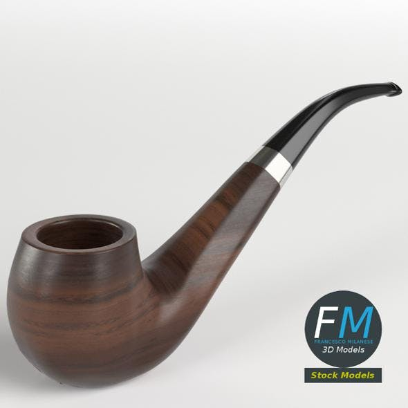 Tobacco pipe - 3DOcean Item for Sale