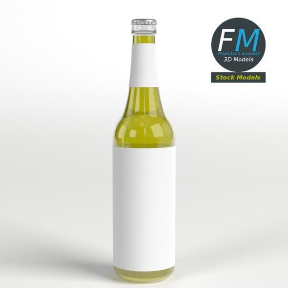 Small beer bottle - 3DOcean Item for Sale