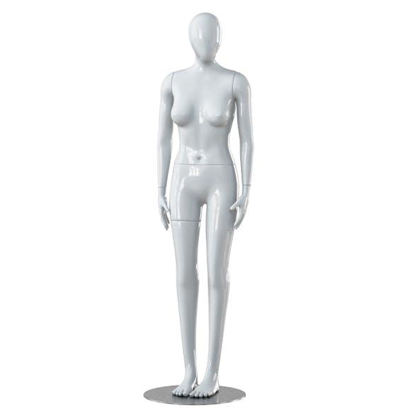 Faceless woman mannequin 26 - 3DOcean Item for Sale