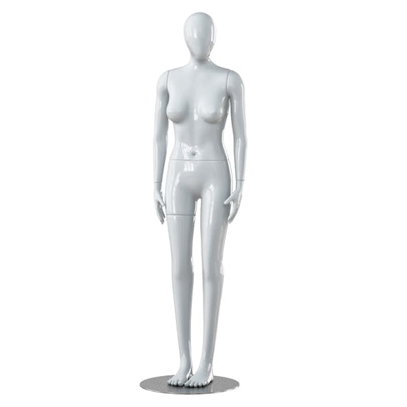 Faceless woman mannequin 26