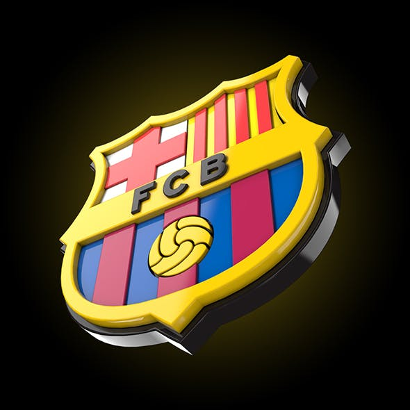 3d Barcelona Logo