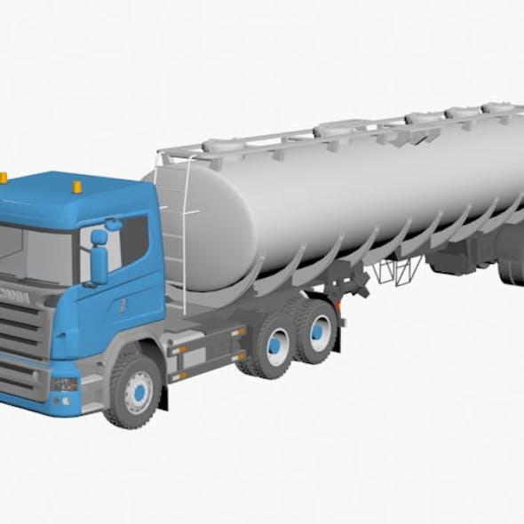 Scania tanker