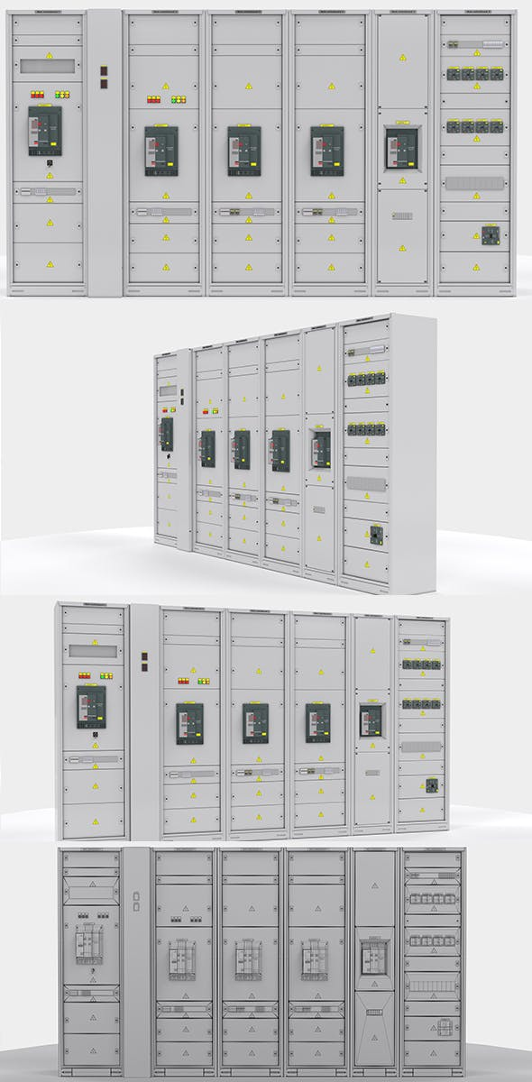 Switching cabinets server automation - 3DOcean Item for Sale