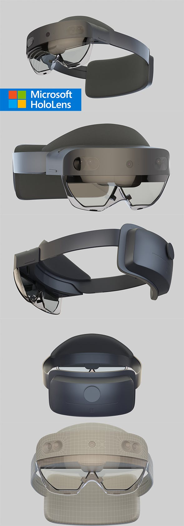 Hololens 2 - 3DOcean Item for Sale