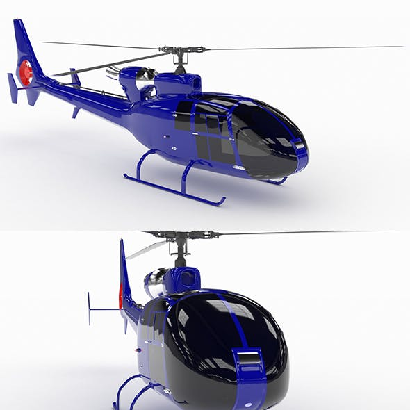 Helicopter SA342 Gazelle VR AR