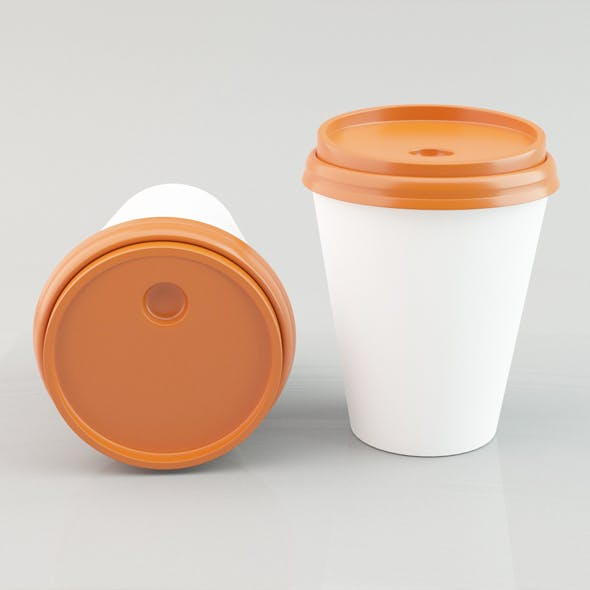 Paper Coffee Cup 02 - 3DOcean Item for Sale